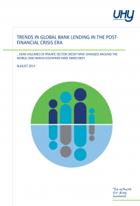 Trends in Global Bank Lending in the Post - Financial Crisis Era
